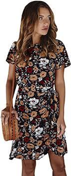 Buy AEGE <b>Women's Summer Ladies</b> Night <b>Sexy Summer Floral</b> ...