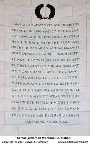 Thomas Jefferson Memorial Quotation Panel 4 via Relatably.com