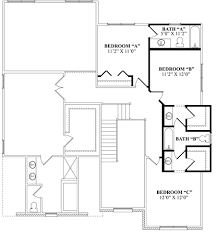 jill bathroom configuration optional: jackandjillbathroom optional second floor with private bath jack