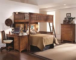 wooden queen bunk bed with bunk beds desk