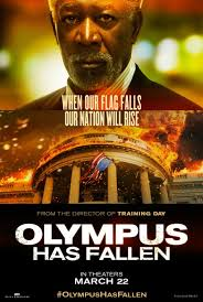 Olympus Has Fallen Movie Poster. Poster design by Iconisus L&Y - Visual