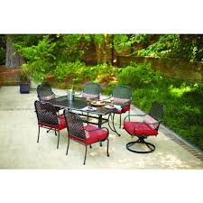 depot patio furniture foldable chairs fresh hampton bay fall river motion patio dining chair with chili cushion  p