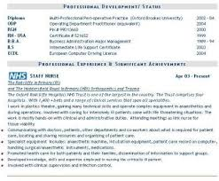 cv sample uk doc Resume Maker  Create professional resumes online for free Sample     Nurse Cv Uk