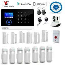 Starter Kit <b>Security wireless wifi</b> gsm alarm <b>system</b> TFT display door ...