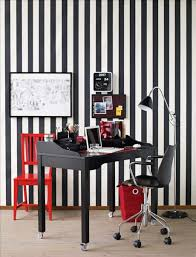 colorful home office design ideas black and white hom eoffice with red accents black and white office design