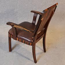 art deco desk chair office side armchair leather antiques atlas art deco desk chair office side armchair