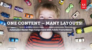 one content many layouts the magic of automa adobe community automate your design framemaker automation and publishing expert markus wiedenmaier in last year we got a lot of requests to follow