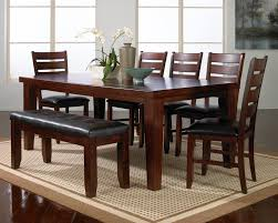 dark wood dining room tables table