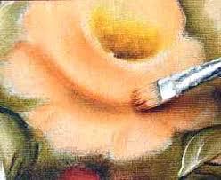 Resultado de imagem para pintura em tecido com pincel