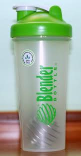 السلعه العاشرة : Sundesa, Blender Bottle with Blender Ball, Color: Green, 28 oz Bottle
