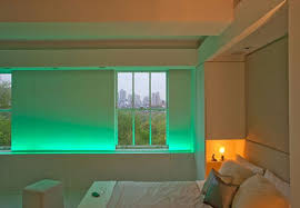 beautiful bedroom interior and lighting in modern apartment interior mood lighting apartment lighting ideas