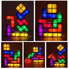 <b>Tetris</b> Puzzle <b>Light</b> Stackable <b>LED Lamp</b> – IEKartz