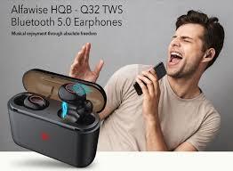 <b>Alfawise HBQ - Q32</b> TWS Wireless Mini Earbuds with Power Display ...