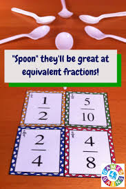 15 must see fraction games pins math fractions teaching want a fun low prep equivalent fractions game to use in your math centers