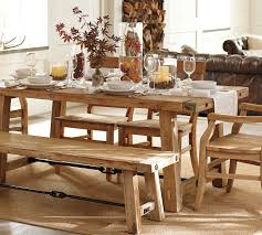 Farmhouse Dining Room Table And Chairs Reclaimed Wood Trestle Farmhouse Table Dining Tables Bedroom