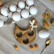 """<b>Подставка под яйцо</b> """"<b>Курочка</b>"""" с солонкой"""