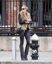 Style Guide: How to wear <b>Faux Fur vest</b>? | Style | Pinterest | <b>Rabbit</b> ...