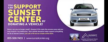 Donate Your Car! (Sunset Center, Carmel-by-the-Sea, California ...