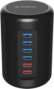 <b>ORICO</b> Powered <b>USB Hub</b> 3.0, 4-Port <b>Multi</b> USB Data Ports ...