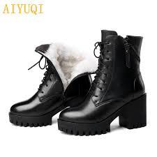 <b>AIYUQI Women</b> bare <b>boots</b> 2019 new genuine leather <b>women boots</b> ...