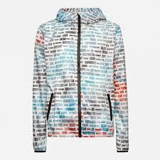 Men's <b>printed windbreaker</b> jacket DIGITAL Jaked | Jaked