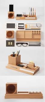 <b>Wooden</b> Office Desk Stationery Organizer Pen Pencil Holder ...