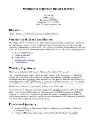 maintenance manager cv maintenance mechanic resume automotive gallery of maintenance mechanic resume