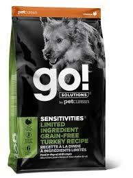 <b>Go</b>! <b>SENSITIVITIES</b> Limited Ingredient Turkey Grain-Free Dry Dog ...