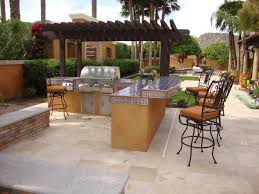 patio outdoor stone kitchen bar: full size of kitchen awesome l shape bbq island stainless steel gas bbq grill black