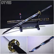 일본 닌자 칼 katana 칼 높은 망간 강철 수제 <b>espada</b> 닌자 katanas ...