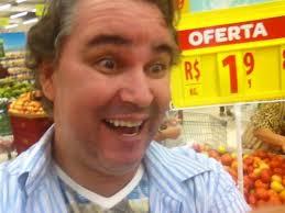 Empresário se envolve em confusão ao tirar fotos de tomate (Foto: Denilson Pinto/ Foto tirada pelo empresário que deu início à confusão (Foto: Denilson ... - img_5032
