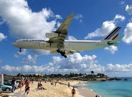 Resultado de imagen de fotos de aviones aterrizando