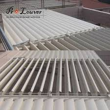 louvered patio roof system