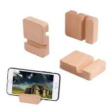 Wooden <b>Phone Holder Stand</b> For iPhone Xs X 8 <b>Mobile</b> Phone ...