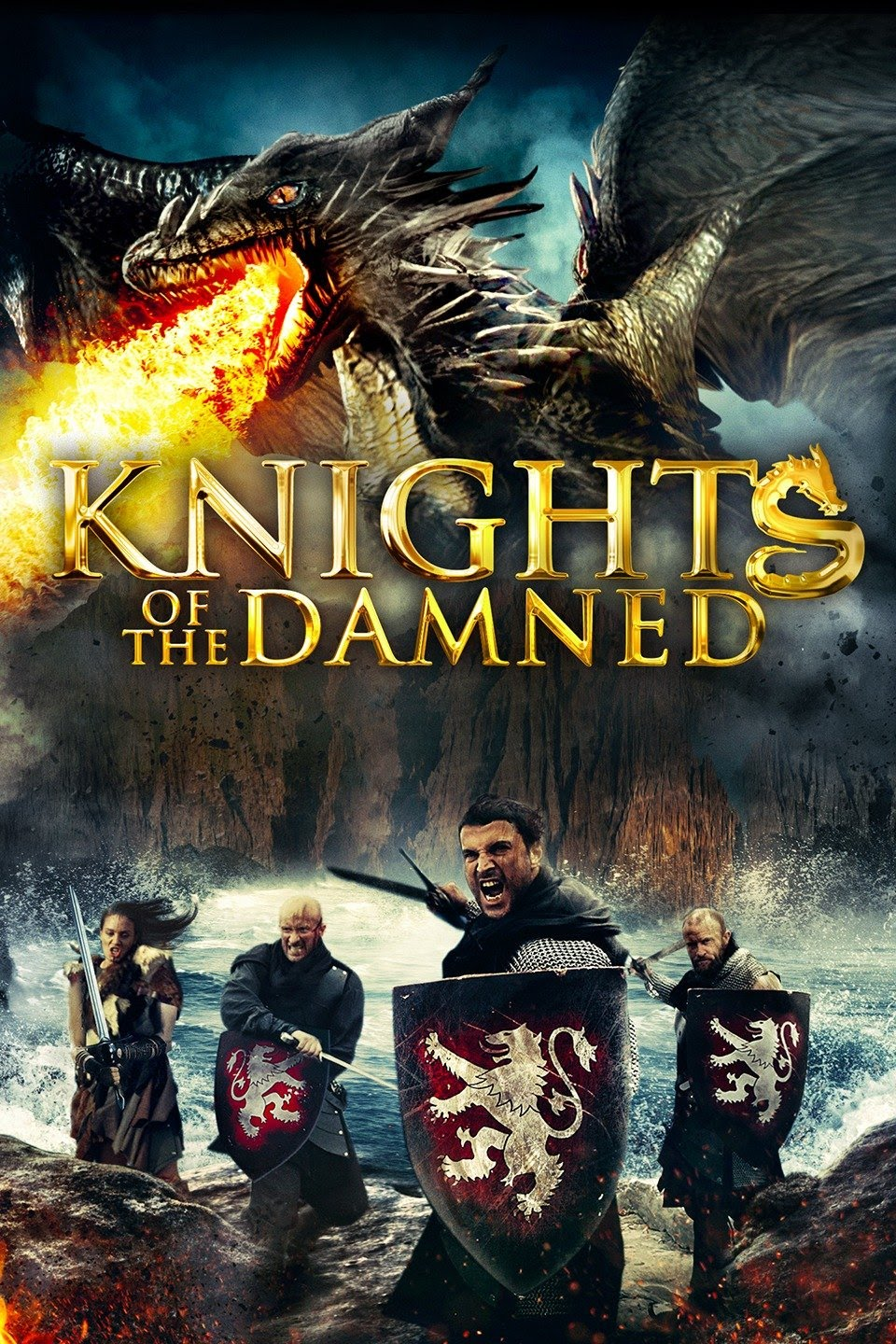 Download Knights of the Damned (2017) Dual Audio (Hindi-English) 480p | 720p