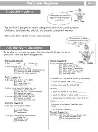 personal hygiene worksheets for kids level 2 5 hygiene personal hygiene worksheets for kids level 2 5