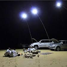 Amazon.com : UBOWAY Outdoor Lamp <b>Telescopic</b> Fishing <b>Rod</b> ...