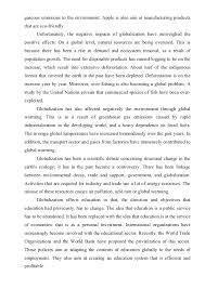 essay globalization   gaseous
