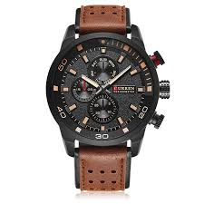 AIHOME <b>CURREN 8250 Men's</b> Sports Quartz Watch Waterproof ...