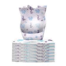 <b>10pcs Disposable</b> Bibs <b>Children</b> Baby Waterproof Sterile Eat Bibs ...
