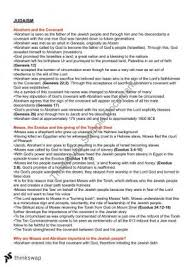 judaism essay hsc   essay topic suggestionsjudaism preliminary notes