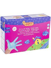 <b>Краски пальчиковые</b> 6 цветов, 750г <b>JOVI</b> 4196425 купить за 793 ...