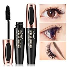 Buy leegoal <b>4D Silk Fiber Lash</b> Mascara, Cold Waterproof Long ...