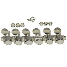 KAISH 6 Inline Guitar Vintage Style Locking Tuners ... - Amazon.com