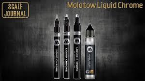 Применение <b>маркеров</b> Molotow Liquid Chrome в моделизме ...