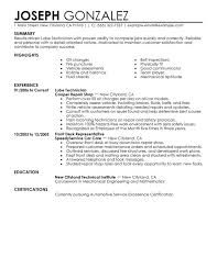Unforgettable Lube Technician Resume Examples to Stand Out ... Lube Technician Resume Sample