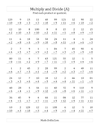 Math Worksheets For Multiplication And Division - K5-SHEETSEquivalents Maze Printable Multiplication Division Worksheets. Full Preview