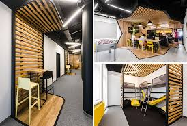 office define. modelina architekci have recently completed a new office in wroclaw poland for define