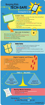 technology  citizenship and safety on pinterestgreat infographic on how to keep elementary school kids tech safe  including internet safety