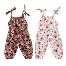 <b>2018</b> New Summer <b>Cute</b> Toddler Newborn Baby Girls <b>Floral</b> ...